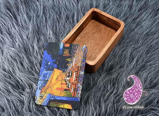 جعبه چوبی دستساز