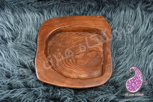 سینی چوبی دستساز دفرمه