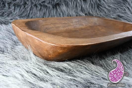 سینی چوبی بدونه دسته