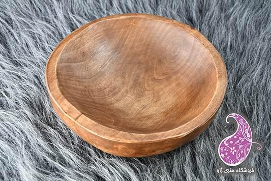 کاسه چوبی دستساز