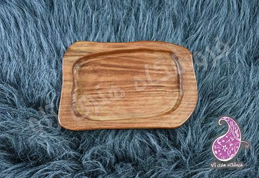 سینی دفرمه چوبی دستساز