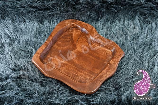 سینی چوبی مربع