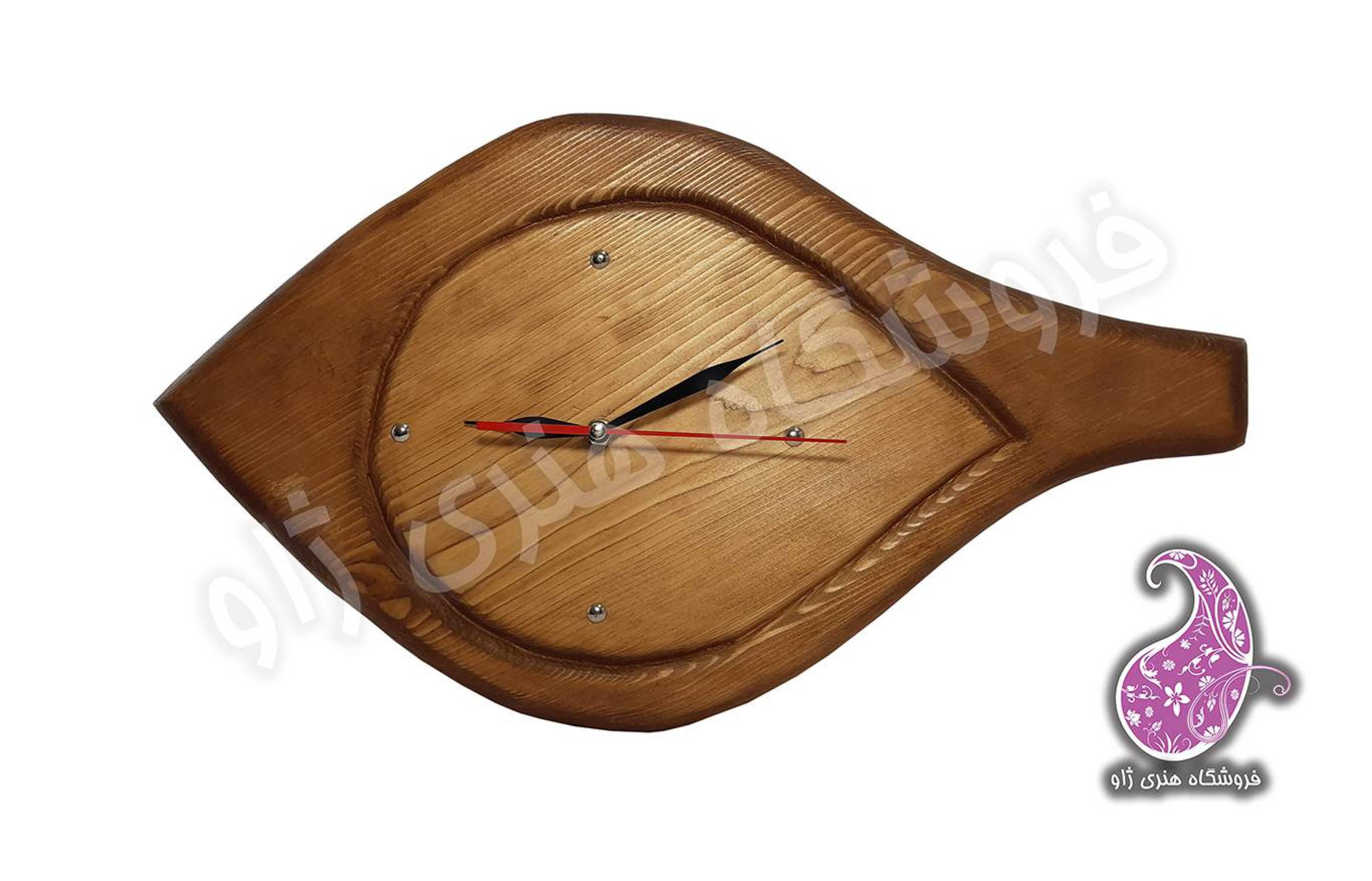 ساعت چوبی دستساز